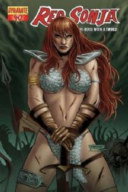 Red Sonja #40 Neves Cover (2008) Dynamite Entertainment comic book